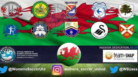 Cardiff Metropolitan Ladies lead Wales Women's Premier League 30th January 2018
