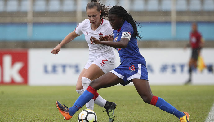Canada falls 1-0 to Haiti in final qualification match for FIFA U-20 Women's World Cup