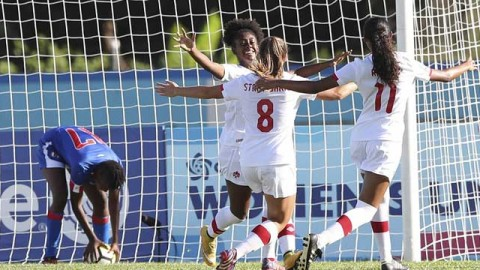 Canada wins group A with 4-0 victory over Haiti at CONCACAF Women's U-20 Championship