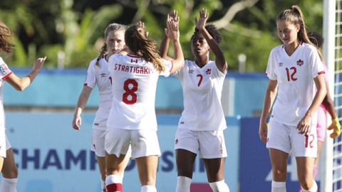 Canada prepares for Semi-Final match versus Mexico at 2018 CONCACAF Women's U-20 Championship