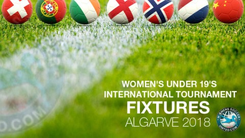 Women's Under 19's International Tournament Algarve 2018 Fixtures