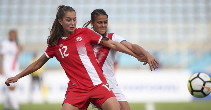 Canada opens group stage with 3-1 over Costa Rica at CONCACAF Women's U-20 Championship