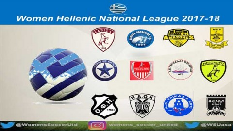 February 25: PAOK Ladies FC top the Greek Hellenic National League