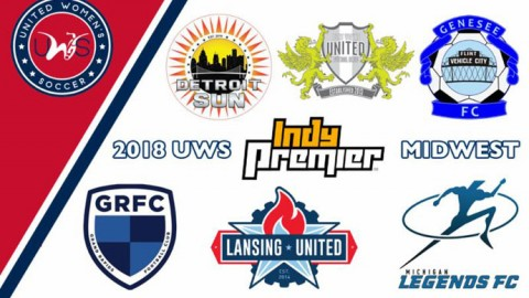 2018 Midwest Conference Alignment & Schedule; Defending UWS champion Grand Rapids FC kicks off season on Sunday, May 13