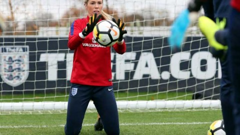 Carly Telford is determined to establish herself as a mainstay in new England boss Phil Neville's World Cup plans
