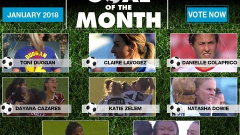 VOTE: WSU Goal of the Month – January 2018
