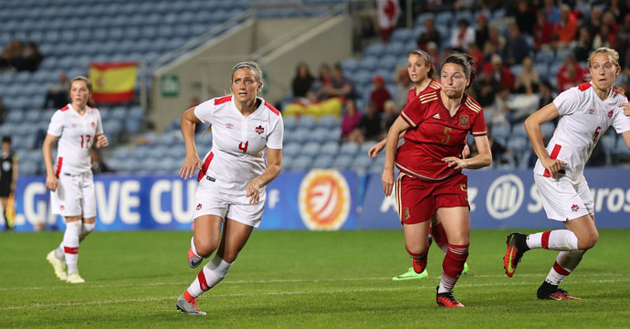 Canada WNT Head Coach Kenneth Heiner-Møller names squad for the 2018 Algarve Cup