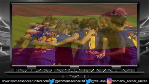 FC Barcelona lead Spanish Liga Femenina Iberdrola 4th February 2018