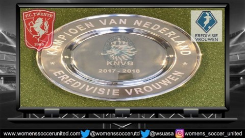 FC Twente lead the Netherlands Women's Eredivisie 24th February 2018