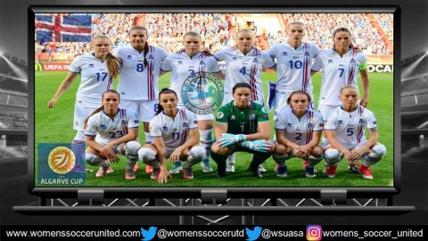 Freyr Alexandersson names Iceland's Squad for the Algarve Cup 2018