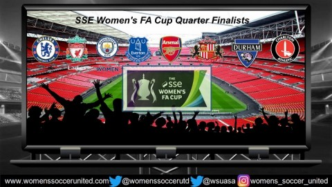 The teams who go into the Quarter Finals of the SSE FA Women's Cup