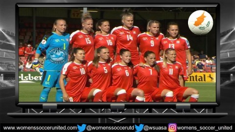 Martina Voss-Tecklenburg names Swiss Squad for Cyprus Women's Cup 2018