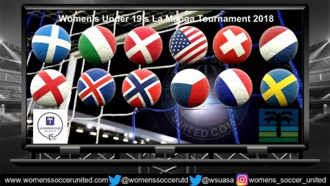 Women's Under-19 La Manga Tournament Match Fixtures 2018