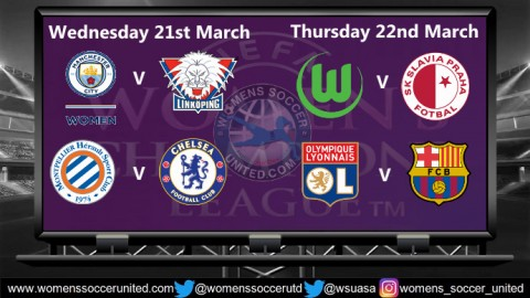 UEFA Women's Champions League 2018 Quarter Finals Live Streams