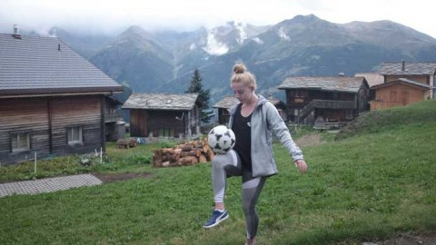 World Freestyle Champion stars in incredible keepy-up video across Europe to launch UEFA's #PlayAnywhere campaign