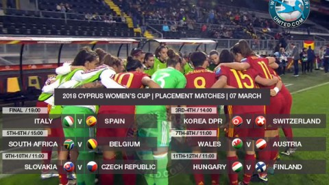 Cyprus Women's Cup 2018 | Final's Day!