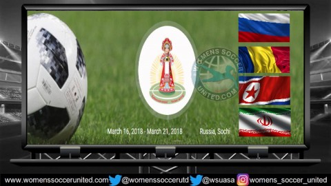 Four teams play in 2018 Kuban Spring Women U-19 Tournament
