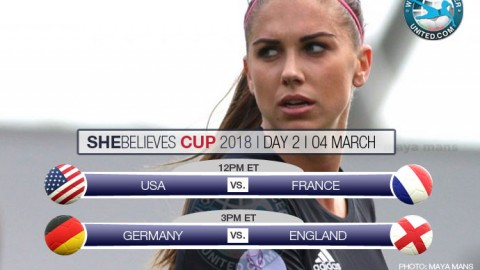 Day Two at the SheBelieves Cup 2018