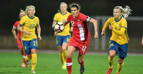 Canada Women's National Team fall 3-1 to Sweden in its opening match of the 2018 Algarve Cup