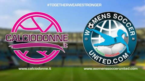 Calciodonne.it & Women's Soccer United together for women's football
