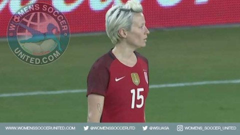 Rapinoe and Heath score as USA completes China PR sweep with 2-1 win in front of 12,335 fans