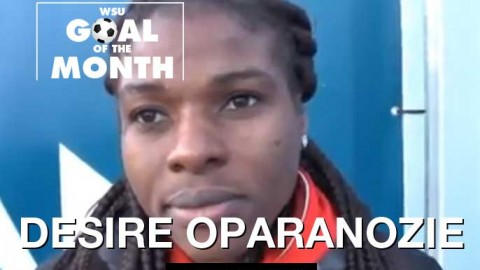 Desire Oparanozie wins WSU Goal of the Month – February 2018