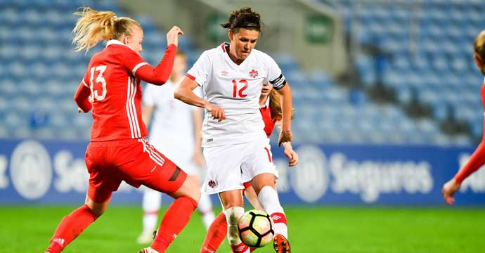 Canada beats Russia 1-0 in second Algarve Cup group stage match
