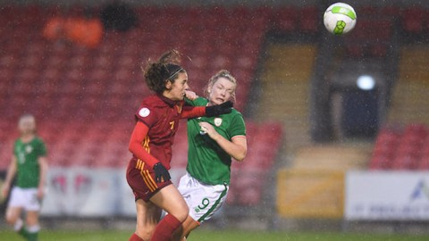 Group leaders Spain triumph over Ireland in UEFA Women's Under-19 Elite Round