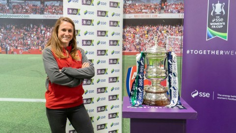"Heather O'Reilly: ""As an American, you hear about Wembley Stadium as the sacred ground. It's a special place"""