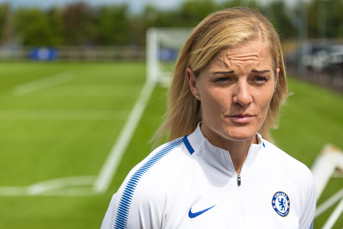 Katie Chapman and Chelsea Ladies determined to win SSE Women's FA Cup