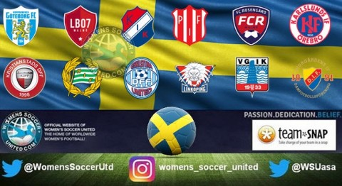 Piteå IF lead the Sweden Damallsvenskan 12th August 2018