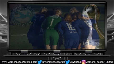 Chelsea Ladies Lead FA Women's Super League One 19th April