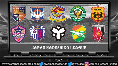 NTV Beleza lead the Nadeshiko League 3rd June 2018