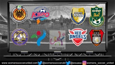 Opening Day Results Korea Republic WK League 24th April 2018