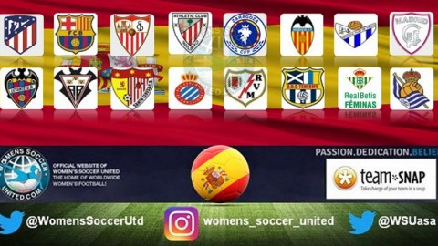 Atletico Madrid lead Spanish Liga Femenina Iberdrola 1st April 2018
