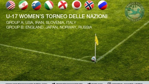 3rd annual U-17 Women's Torneo delle Nazioni Fixtures, Results and Squads