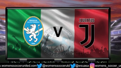 Brescia play Juventus for the 2018 Championship Serie A Title