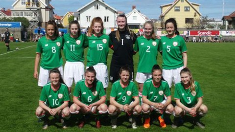 Boyle proud of Republic of Ireland Women's Under-16 team despite Swedish loss