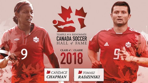 Former National Team star Candace Chapman named to the Canada Soccer Hall of Fame