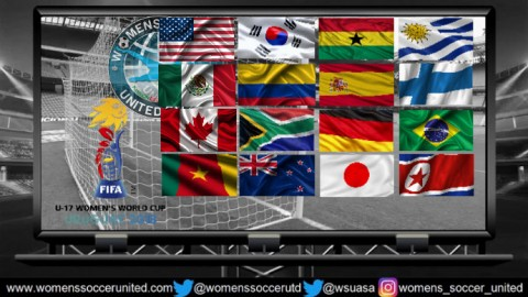 16 Teams Qualified for FIFA Women's U-17 World Cup 2018