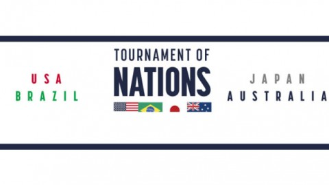 USA to host Australia, Brazil and Japan in 2018 Tournament of Nations from July 26 to August 2