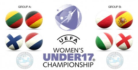 Official squad lists for the UEFA Women's Under-17 Championship 2018