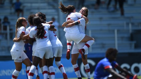 Canada qualifies for FIFA U-17 Women's World Cup Uruguay 2018