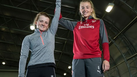 Jockey Hollie Doyle takes on Arsenal star Leah Williamson: Who wins?