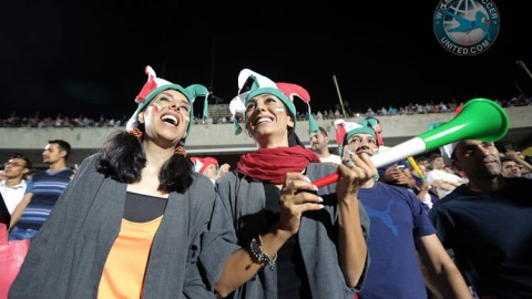 Beautiful photos capturing the historic moment Iranian women were allowed to watch the World Cup in same stadium as men