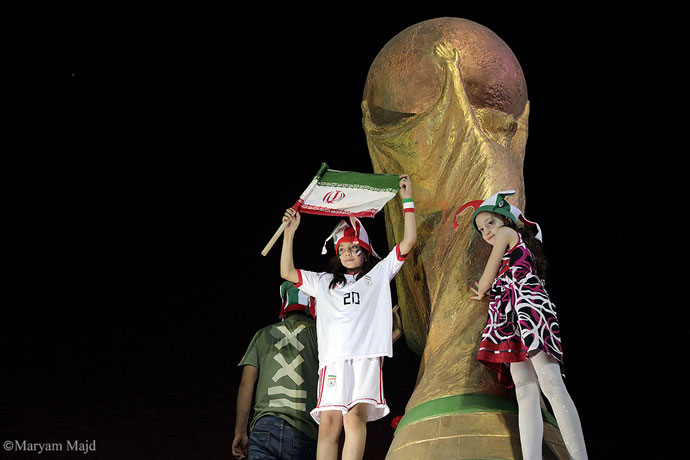 For the first time since 1980, Iranian women allowed to watch World Cup in same stadium as men