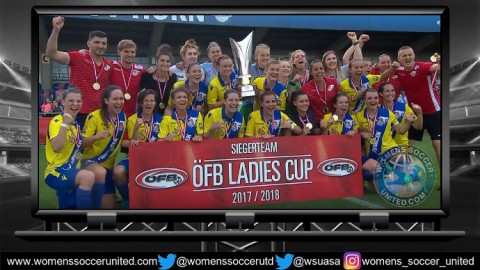 SKN St Pölten Frauen Win the League and Cup 2018