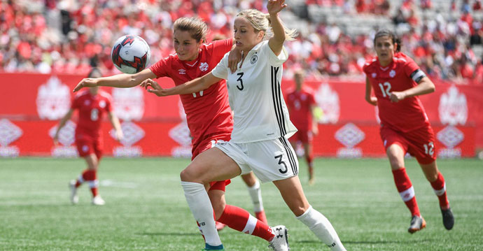 Canada wows sold-out crowd in Hamilton despite 3:2 loss to Germany