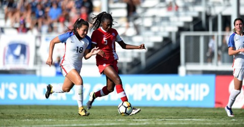 Canada to face Mexico for a spot at the FIFA U-17 Women's World Cup Uruguay 2018