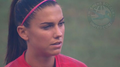 Alex Morgan discusses World Cup qualification and getting closer to her 100th career goal!